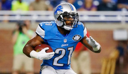 Ameer Abdullah had a breakout game for the Detroit Lions.