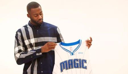 Jonathon Simmons landed on the Orlando Magic.