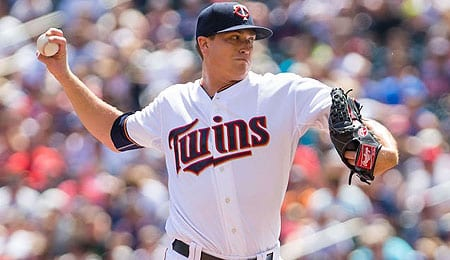 Kyle Gibson is on a real nice roll for the Minnesota Twins.