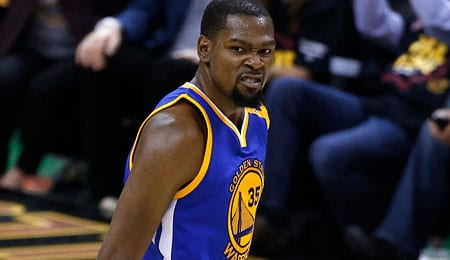 Kevin Durant helped the Golden State Warriors win another title.