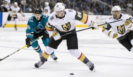 Nate Schmidt is an anchor on defense for the Vegas Golden Knights.