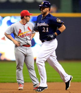 Travis Shaw was a pleasant surprise for the Milwaukee Brewers.