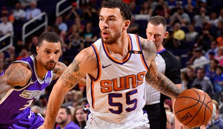 Mike James should get a PT boost for the Phoenix Suns.