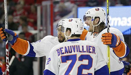 Anthony Beauvillier is flashing goal scoring ability for the New York Islanders.