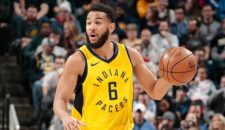 Cory Joseph has been starting for the Indiana Pacers.