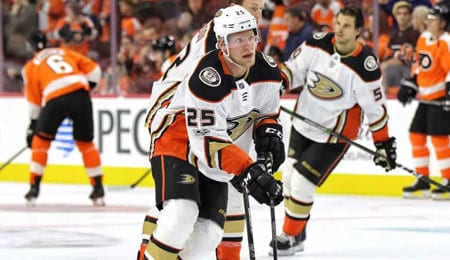 Ondrej Kase is forcing his way up the depth chart for the Anaheim Ducks.