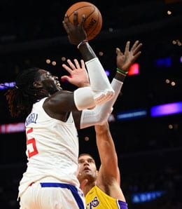 Montrezl Harrell has really stepped up for the Los Angeles Clippers.