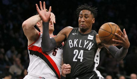 Rondae Hollis-Jefferson is seeing plenty of PT for the Brooklyn Nets.