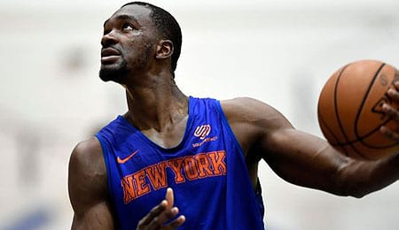 Noah Vonleh is developing nicely for the New York Knicks.
