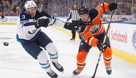 Alex Chiasson has been pouring in goals for the Edmonton Oilers.