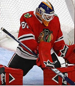 Collin Delia has established himself as the goalie of the future for the Chicago Blackhawks.