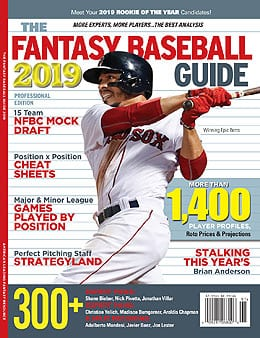 The Fantasy Baseball Guide 2019