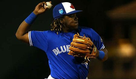 Vladimir Guerrero Jr. is ready to make his mark for the Toronto Blue Jays.