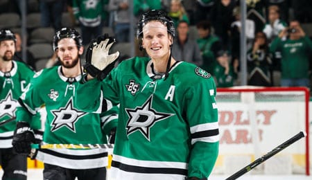 John Klingberg leads the Dallas Stars defense corps.