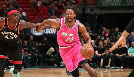 Justise Winslow had a breakout season for the Miami Heat.