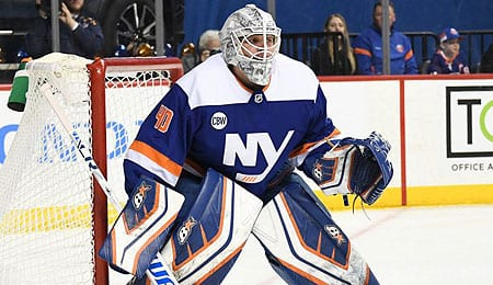 Robin Lehner's first season with the New York Islanders was a huge success.