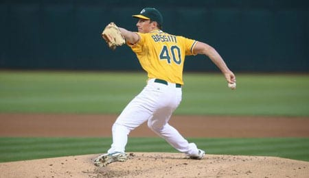 Chris Bassitt has taken a huge step forward for the Oakland Athletics.