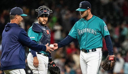 Hunter Strickland will soon return for the Seattle Mariners.