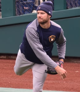 Adrian Houser has given a lift to the Milwaukee Brewers rotation.