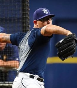 Anthony Banda will soon be ready to rejoin the Tamp Bay Rays,
