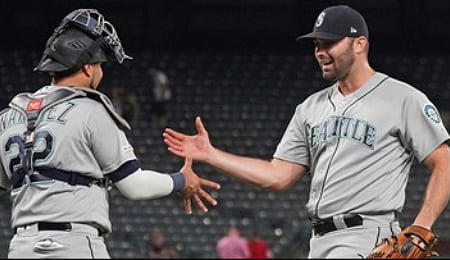 Matt Magill has taken over as closer for the Seattle Mariners.
