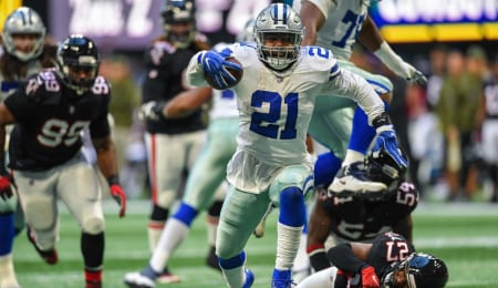 Zeke Elliott's holdout is affecting the chances of the Dallas Cowboys.