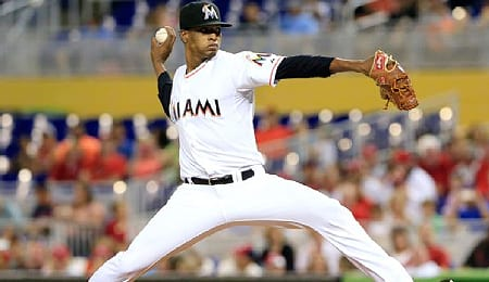 Jose Urena has really fallen on the Miami Marlins depth chart.