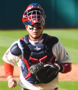 Roberto Perez showed he can hit for the Cleveland Indians.