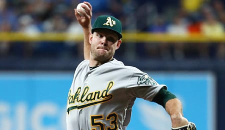Tanner Anderson took a step backward for the Oakland Athletics.