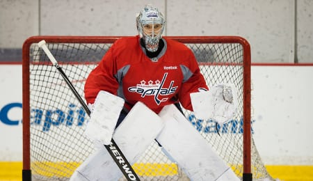 Ilya Samsonov is establishing himself as the goalie of the future for the Washington Capitals.