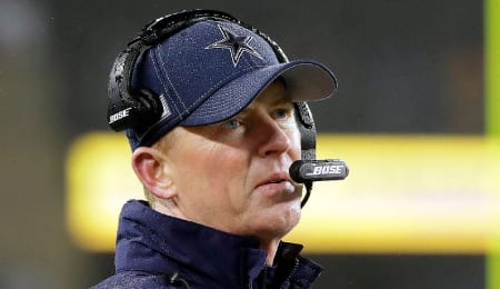 Jason Garrett could be in trouble with the Dallas Cowboys.