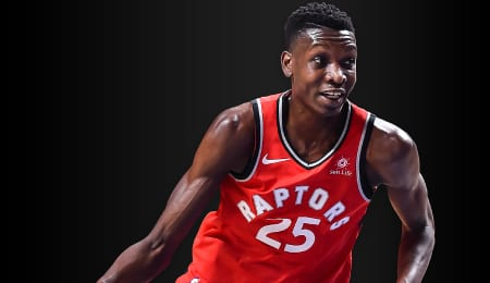 Chris Boucher should see a nice boost in PT for the Toronto Raptors.