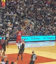 Norman Powell is enjoying a career season for the Toronto Raptors.