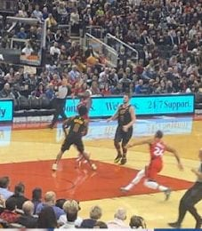 Norman Powell is on a scoring tear for the Toronto Raptors.