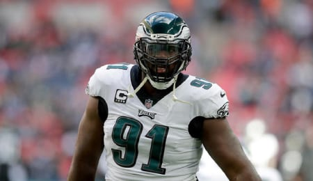 Fletcher Cox leads a tremendous Philadelphia Eagles defensive line.
