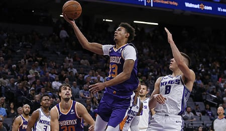 Cameron Johnson is starting to deliver for the Phoenix Suns.