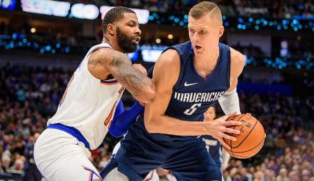 Kristaps Porzingis has been a beast for the Dallas Mavericks.