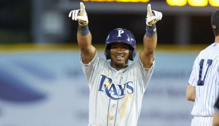 Wander Franco is now the top prospect in the game for the Tampa Bay Rays.