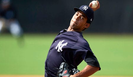 Deivi Garcia had a brilliant MLB debut for the New York Yankees.
