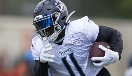 A.J. Brown is healthy again for the Tennessee Titans.
