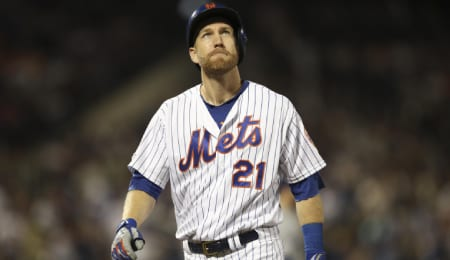 Todd Frazier's second tour with the Mets likely won't last long.