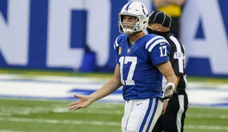 Philip Rivers is looking to bounce back for the Indianapolis Colts.