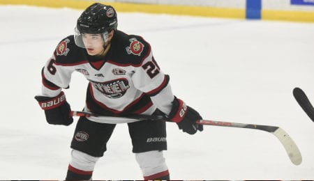 Montreal Canadiens prospect Sean Farrell is tearing it up for the Chicago Steel.