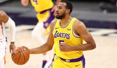 Talen Horton-Tucker has some serious upside for the Los Angeles Lakers and could be a fine Fantasy basketball waiver wire addition.