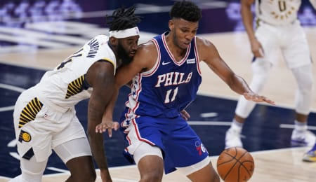 Tony Bradley is getting a chance to start for the Philadelphia 76ers