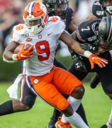 Travis Etienne is the top running back in the 2021 NFL Draft.