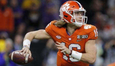 Trevor Lawrence is expected to go first overall after his time with the Clemson Tigers.