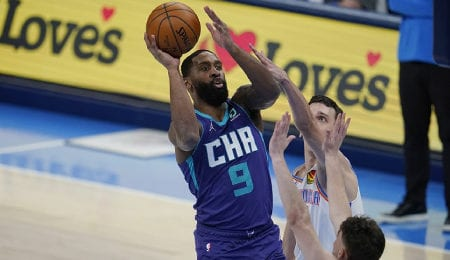 Brad Wanamaker has stepped up his play since being traded to the Charlotte Hornets.