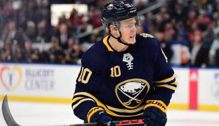 Henri Jokiharju has been given a big opportunity by the Buffalo Sabres.