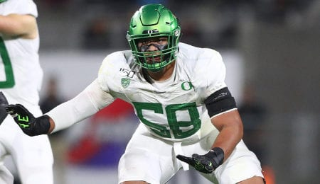 After starring for the Oregon Ducks, Penei Sewell is a surefire plug and play NFL starter.